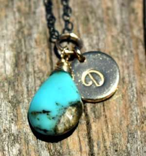 December Birthstone - Turquoise - Sterling Silver - Brelox