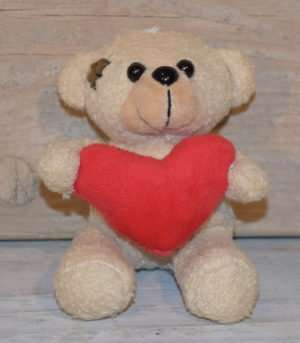Heart Teddy Bear - Brelox