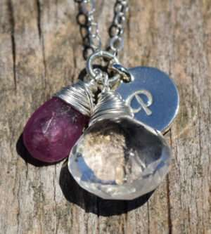 September Birthstone - Sapphire - Sterling Silver - Brelox