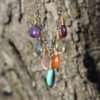 Brelox Love Multi Gemstone - On Wood