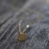 Charmed - Gold Personalized Charm Necklace - With Chain
