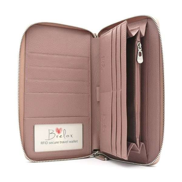 An image of a travel passport holder